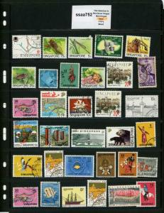 PKStamps - ssaa752 - Singapore - Mini Lot - Check Out Image