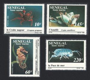 Senegal Marine Life 4v SG#1014-1017 SC#843-846