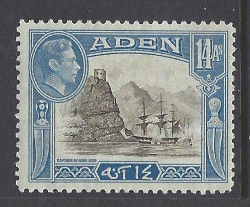 Aden, Scott #23A; 14a King George VI, MH