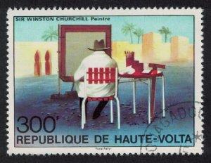 Upper Volta Birth Centenary of Sir Winston Churchill 1v 1975 CTO