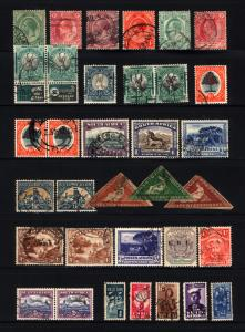 South Africa & Cape of Good Hope 1855-1943 Small Used Group 30 Items