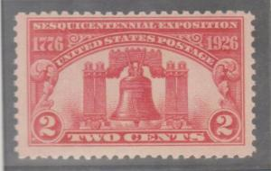 U.S. Scott #627 Liberty Bell Stamp - Mint Single