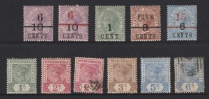 British Honduras a small mainly MH lot of QV