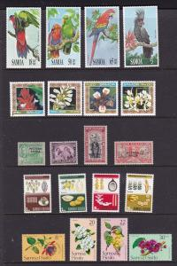 Samoa a few mint sets etc