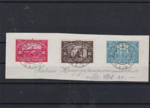 Yugoslavia 1921  Stamps + CELJE Cancels Ref 30636
