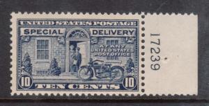 USA #E12 NH Mint Plate Single
