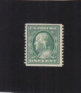 US: Sc #352, MH, 1c Franklin (40126)