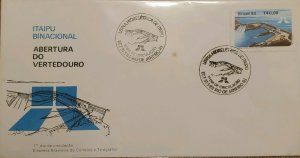 A) 1983, BRAZIL, HYDROELECTRIC, BINATIONAL ITAPU, FDC, LANDFILL OPENING BETWEEN