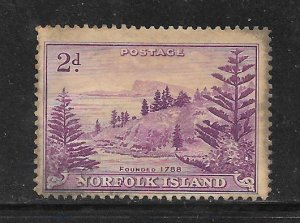 Norfolk Island #4 Used Single