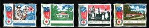 Samoa-Sc#275-8- id7-unused NH set-Health Service-1967-