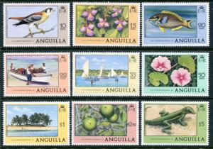 Anguilla 281-9 Mint NH CV$14.65. NO per item shipping