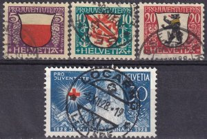 Switzerland #B45-8 F-VF Used  CV $14.80  (Z4462)