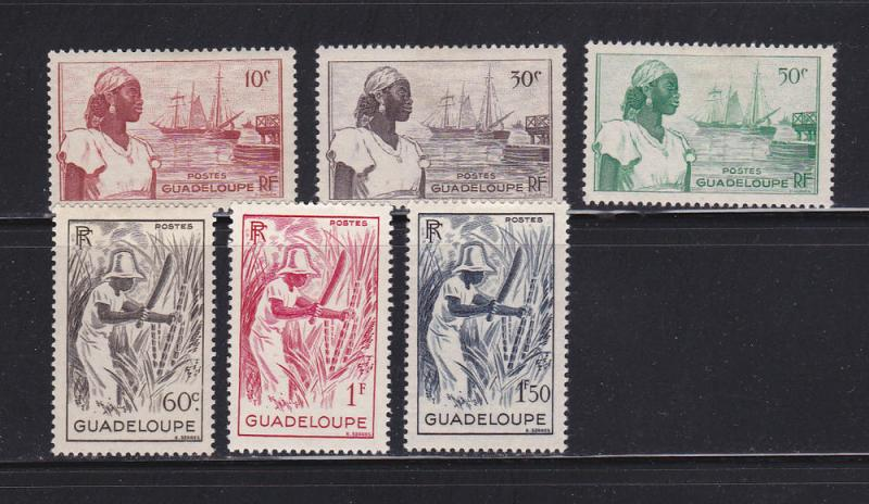 Guadeloupe 189-194 MHR People