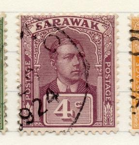 Sarawak 1922-23 Early Issue Fine Used 4c. 196156