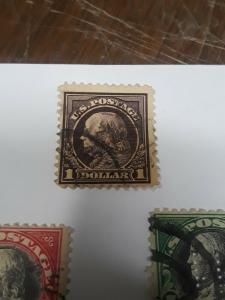 USA High Value Ser $1 ,2,5 1917 /18