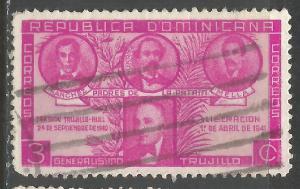 DOMINICAN REPUBLIC 369 VFU N901-5