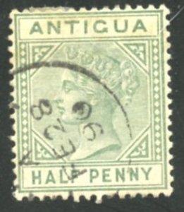 Antigua Scott 12 - UF-VFLH - SCV $20.00