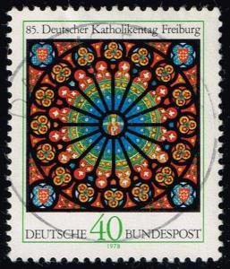 Germany #1278 Rose Window of Freiburg Cathedral; Used (0.30)