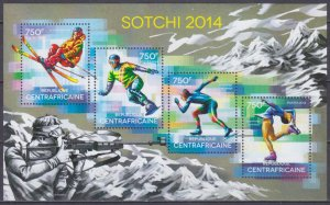 2014 Central African Republic 4785-88KL 2014 Olympic Games in Sochi 14,00 €