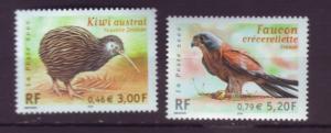 J20366  jlstamps 2000 france mnh set #2790-1 wildlife
