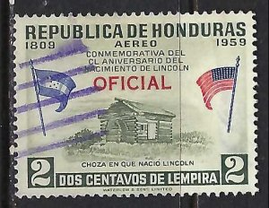 Honduras CO99 VFU Z8092-3