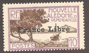 New Caledonia 222 Mint F LH