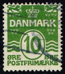 Denmark #94 Numeral; Used (0.50) (1Stars)