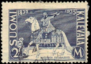 Finland #209 Used hinge and paper on back Fair 2-14