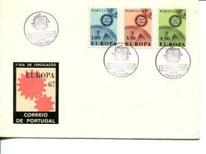 Portugal 1967 FDC  Europa   Mint VF