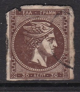 GREECE  ^^^^^^sc#49a used HERMES CLASSIC $ 72.50  @ lar3814gree