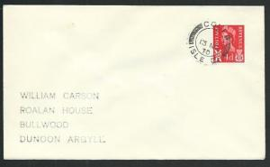 GB SCOTLAND 1970 cover COLL / ISLE OF cds..................................66581