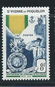 St. Pierre and Miquelon #345 MNH CV$16.00 Military Medal [112178]