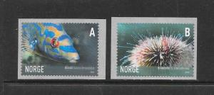 MARINE LIFE - NORWAY #1484-5 MNH