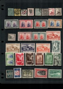 Spain  30  diff  used and mint   lot collection