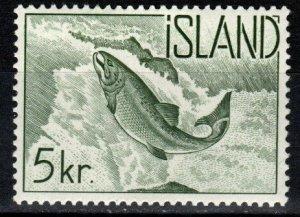 Iceland #322 F-VF Unused  CV $10.00   (V5339)