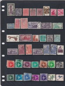 India Stamps Page  Ref 33214
