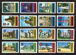 x354 - BARBADOS 1970 - British Commonwealth - Sc# 328-343 Mint MNH Set