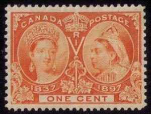 CANADA Sc #51 ORANGE ,(SG122) CAT.$200.00