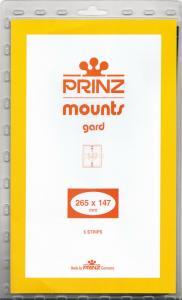 PRINZ BLACK MOUNTS 265X147 (5) RETAIL PRICE $13.50