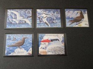 Ascension 2005 Sc 868-72 bird set MNH