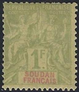French Sudan #19 MNH 20% of SCV. $12.00 **FREE SHIPPING**