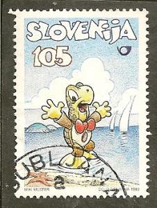 Slovenia      Scott  323    Comic Strip Character     Used
