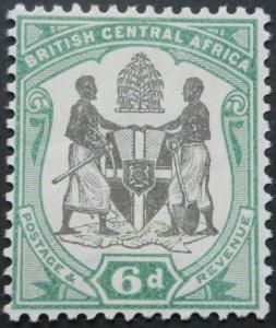 BCA/Nyasaland 1897 Six Pence SG 46 mint