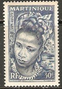 1947 Martinique Scott 218 Martinique Girl  MNH