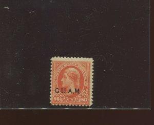 Guam Scott 11 Overprint Mint Stamp  (Stock Guam 11-1)