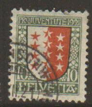 Switzerland #B18 Used