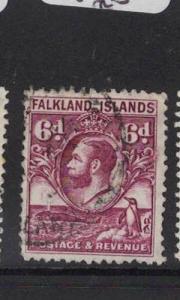 Falkland Islands SG 121a VFU (9dsr)