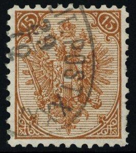 Bosnia and Herzegovina Scott 8b Used.
