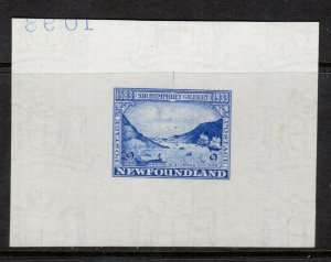 Newfoundland #219DP Very Fine Large Die Proof (70 x 52) In Color Of Issue