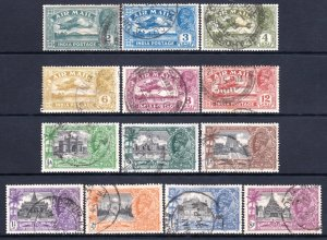 India 1929-1935 KGV Air Mail & Silver Jubilee Complete Used Sets